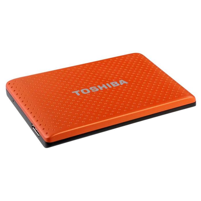 Внешний портативный винчестер TOSHIBA STOR.E PARTNER 750GB (USB3.0) Orange (PA4279E-1HG5)