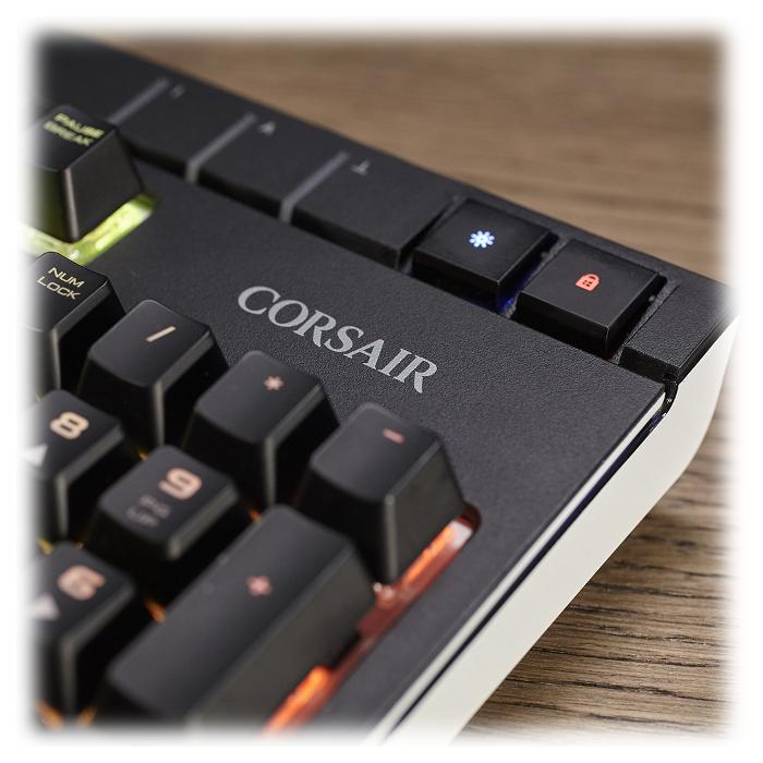Клавіатура CORSAIR Strafe RGB Mechanical Gaming Cherry MX Brown (CH-9000094-NA)