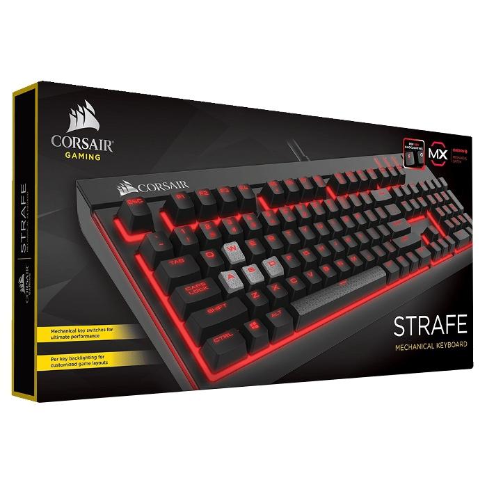 Клавіатура CORSAIR Strafe Mechanical Gaming Cherry MX Brown (CH-9000092-NA)