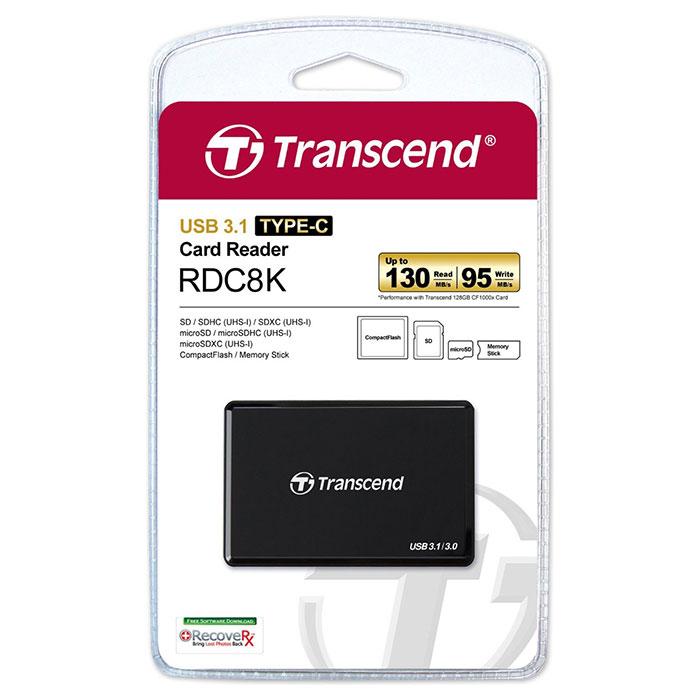 Кардридер TRANSCEND RDC8 (TS-RDC8K2)