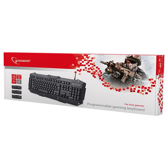 Клавіатура GEMBIRD KB-UMGL-01-RU