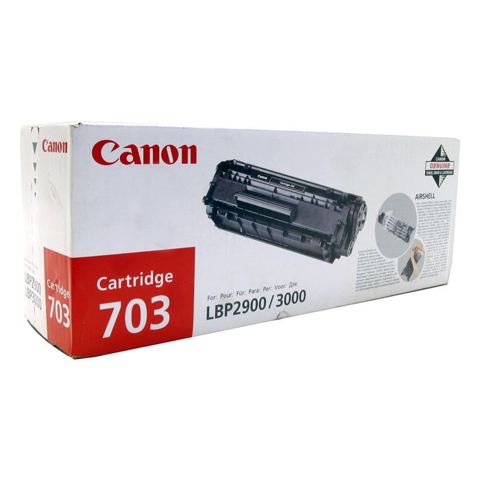 Тонер-картридж CANON 703 Black (7616A005)