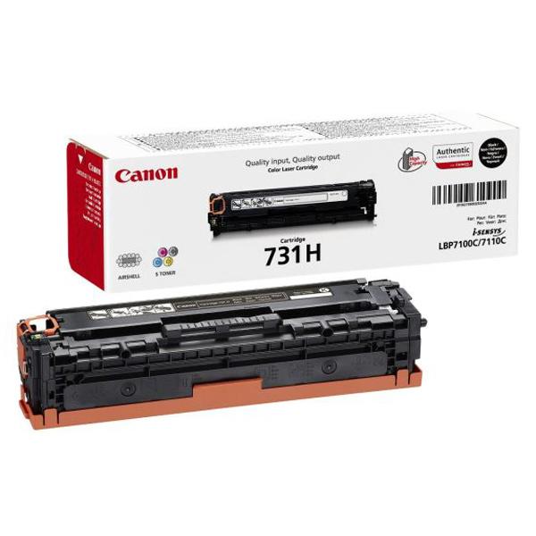 Тонер-картридж CANON 731H Black (6273B002)