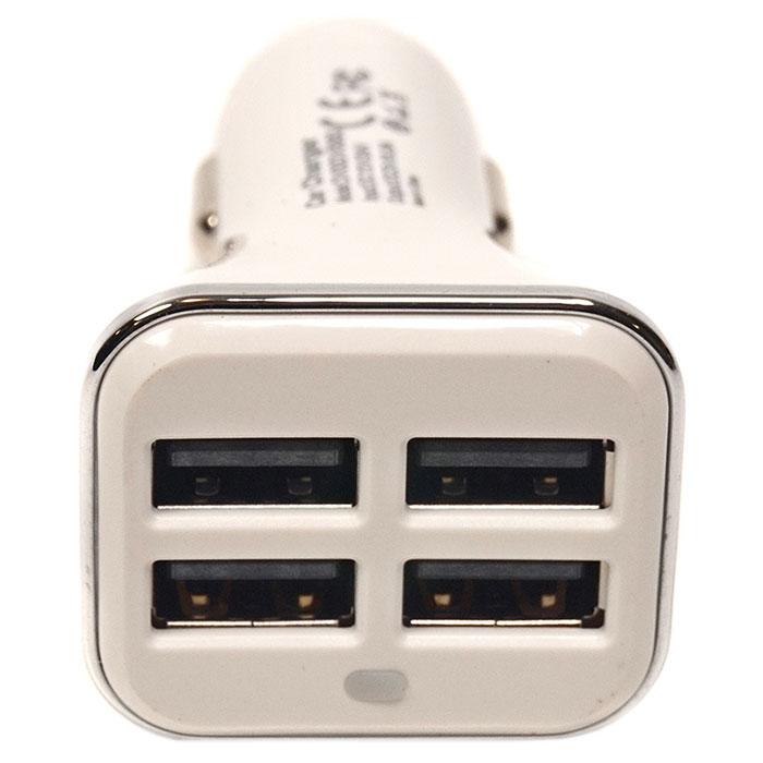 Автомобильное зарядное устройство POWERPLANT 4xUSB 6.8A (DV00DV5063)