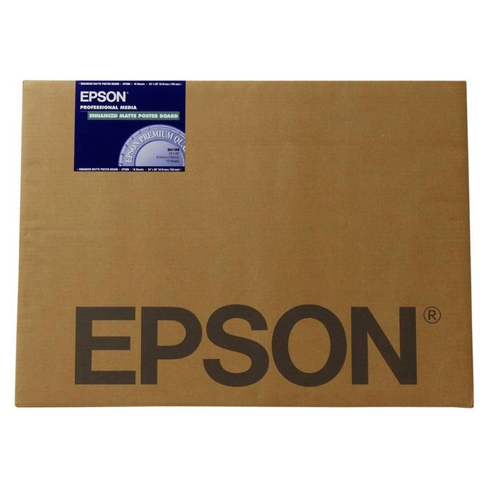 Бумага EPSON Enhanced Matte Posterboard A3+ C13S042110