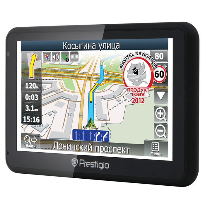 GPS навигатор PRESTIGIO GeoVision 5166 BT