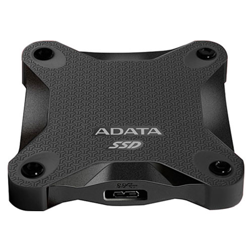 Портативный SSD ADATA SD600 256GB Black (ASD600-256GU31-CBK)