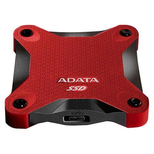 Портативный SSD ADATA SD600 256GB Red (ASD600-256GU31-CRD)