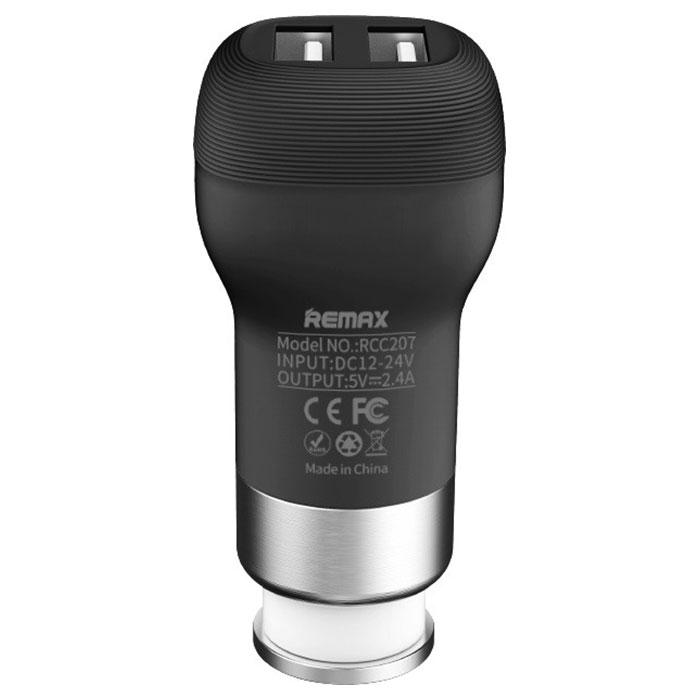 Автомобильное зарядное устройство REMAX Flinc RCC-207 Black