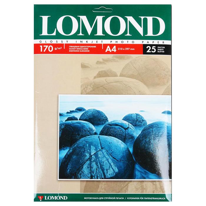 Фотобумага LOMOND Glossy Photo A4 0102143