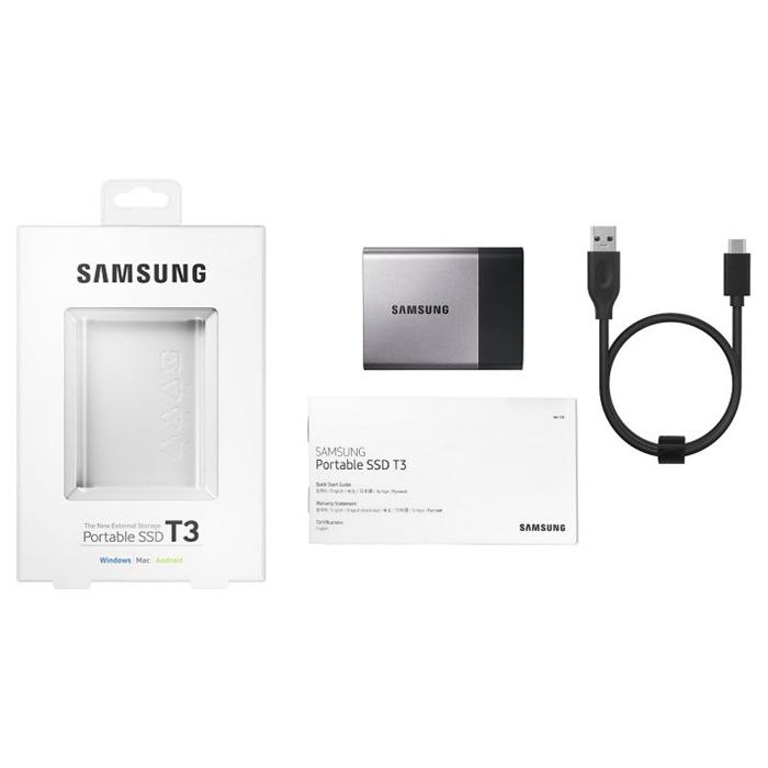 Портативный SSD SAMSUNG T3 250GB (MU-PT250B/WW)