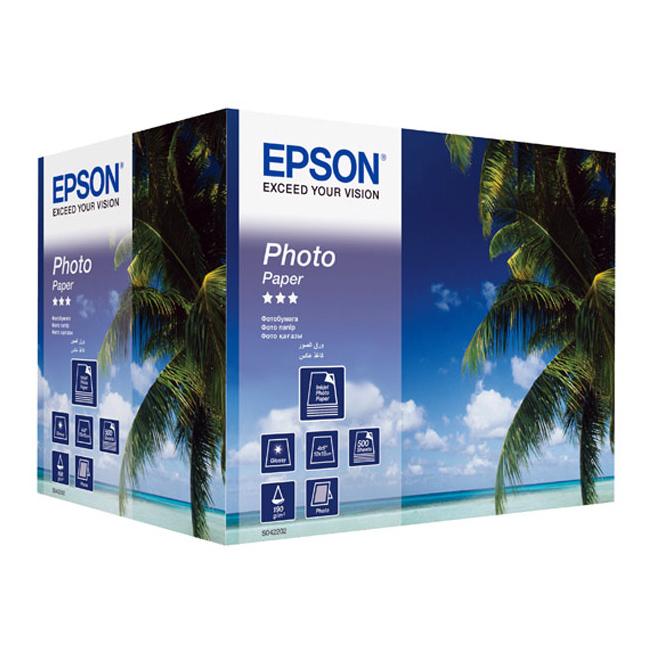 Папір EPSON 100 мм x 150 мм Photo Paper, 500 л.