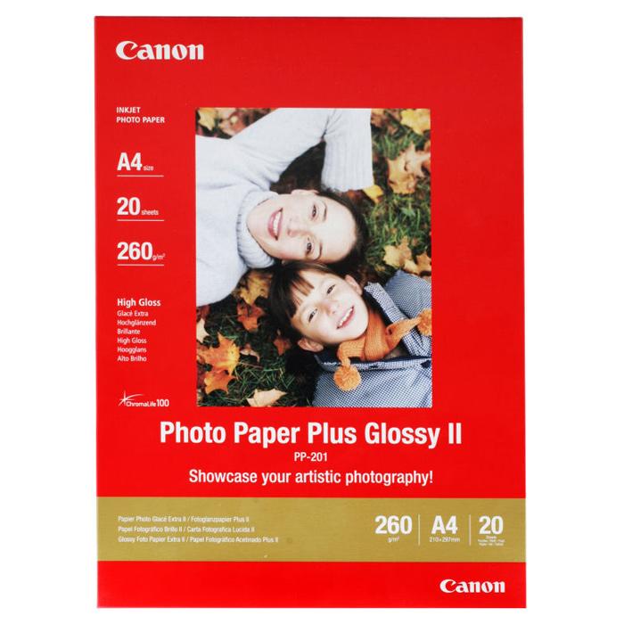 Фотопапір CANON Photo Plus Glossy A4 260г/м² 20л (2311B019)