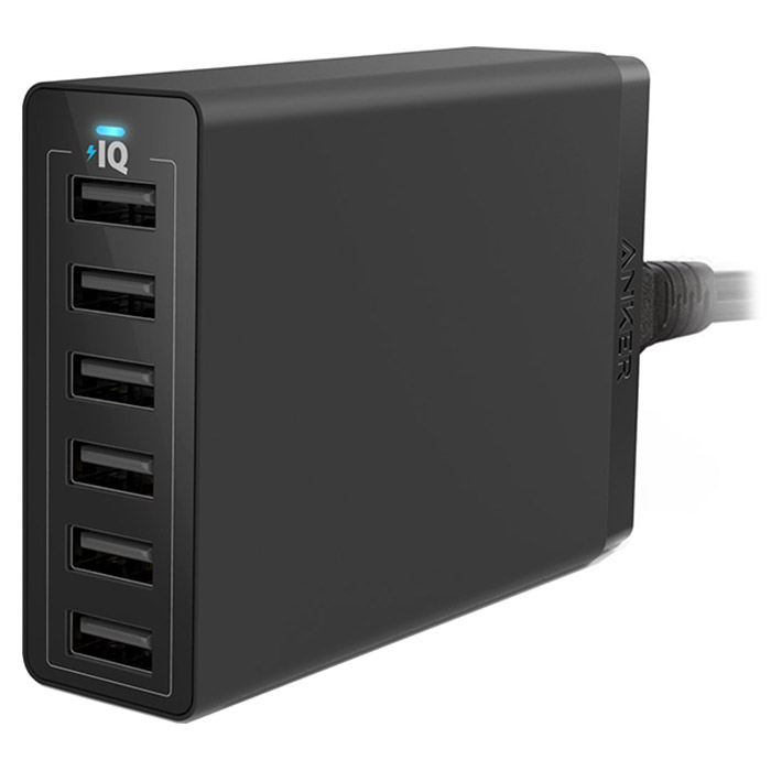Зарядное устройство ANKER PowerPort Lite 6 (A2123L12)