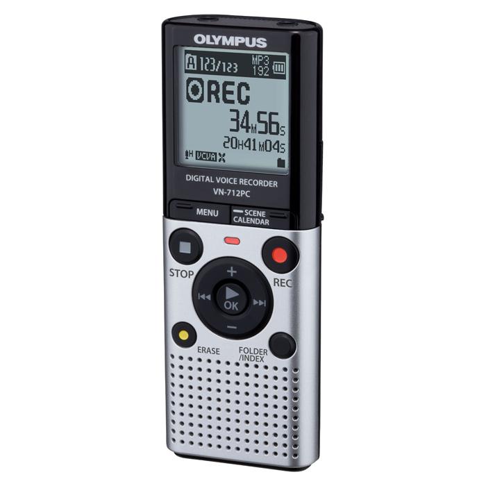 Диктофон OLYMPUS VN-712PC 2GB Black/Silver