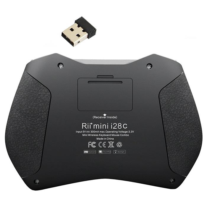 Клавіатура бездротова RII Mini i28C (RT-MWK28C)