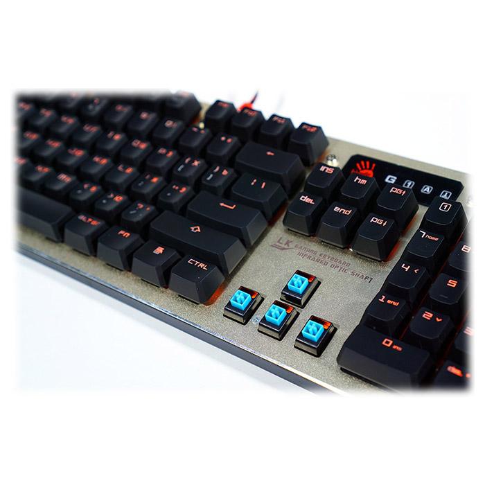 Клавіатура A4TECH BLOODY B840 Gold