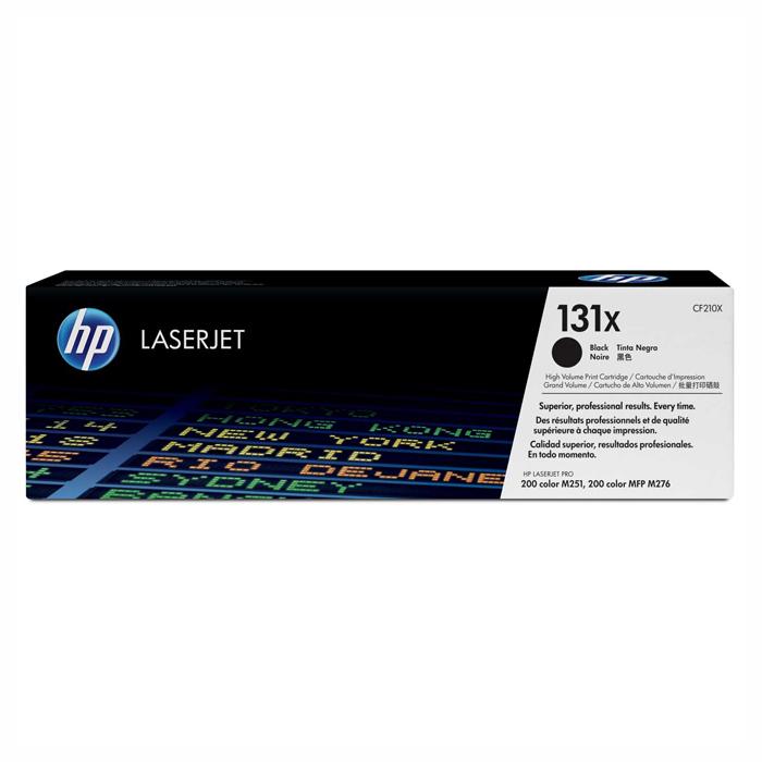 Тонер-картридж HP 131X Black (CF210X)