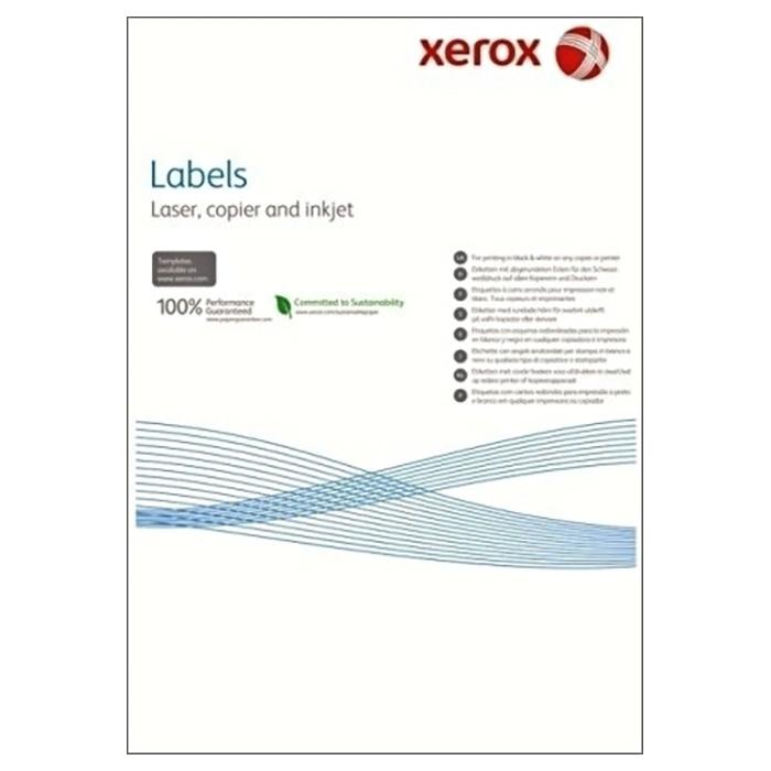 Самоклеюча наліпка XEROX Mono Laser 4UP squared 100л (003R97402)