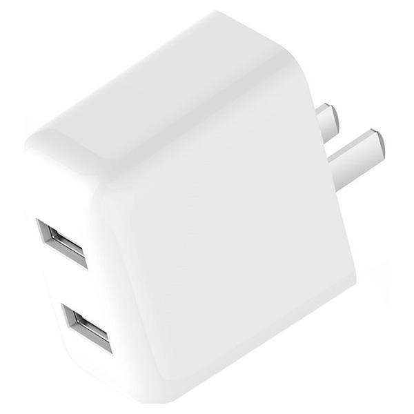 Зарядное устройство XIAOMI Mi USB Charger 2 USB White (MI USB MULTIPLE HUB 2)