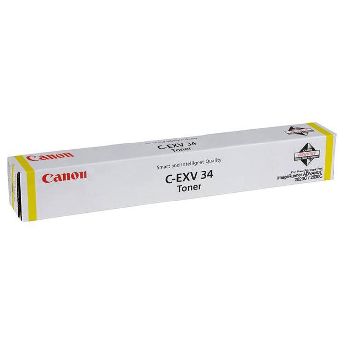 Фотобарабан CANON C-EXV34 Yellow (3789B003)