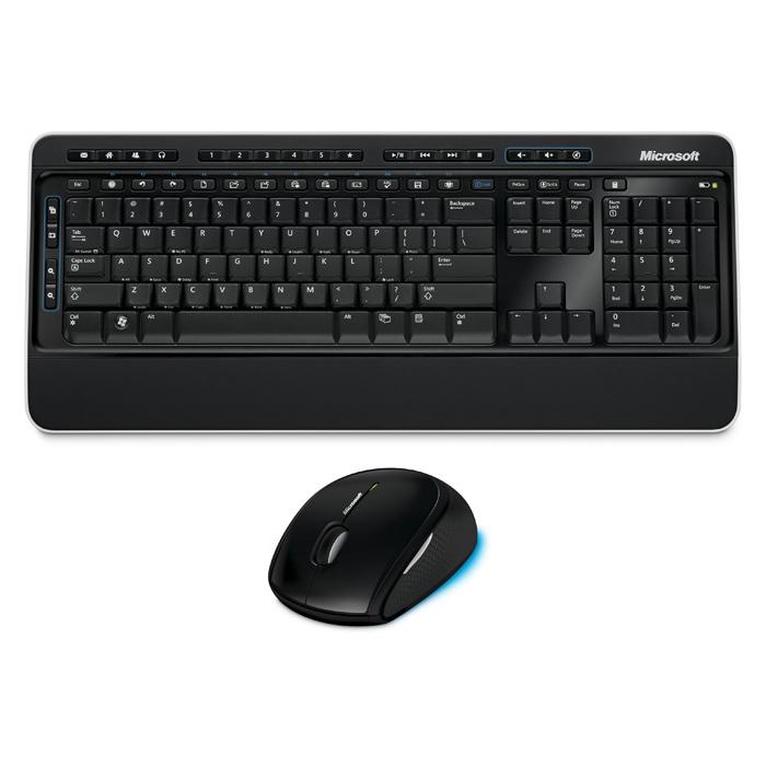 Комплект бездротовий MICROSOFT Desktop 3000 BlueTrack Black (MFC-00019)