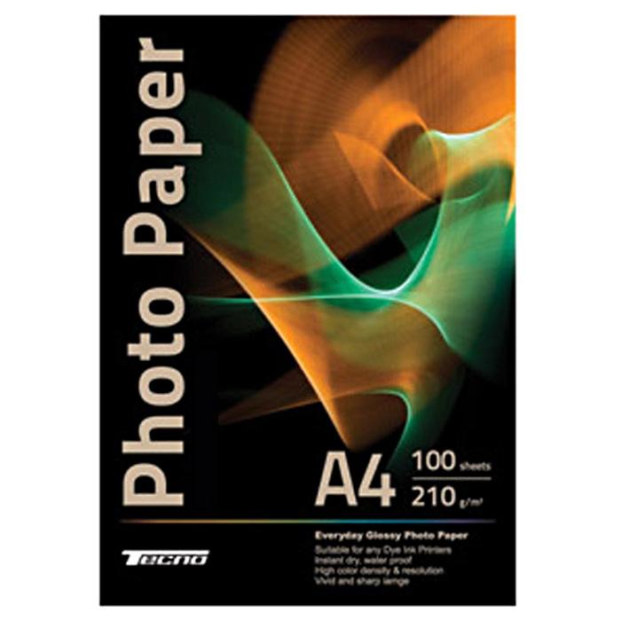 Фотопапір TECNO Premium Glossy A4 210г/м² 100л (A4-P210-100)
