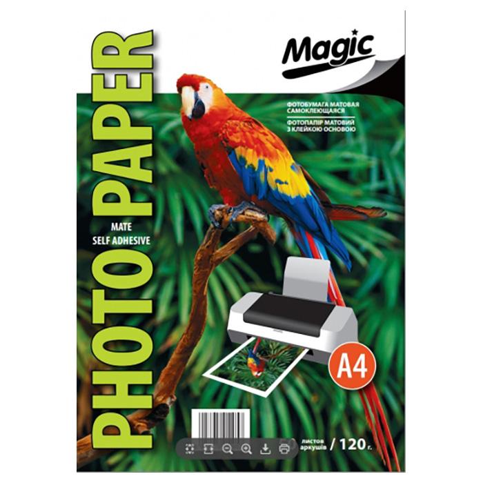 Фотопапір MAGIC Matte Self Adhesive A4 120г/м² 50л (MS120.50MAG)