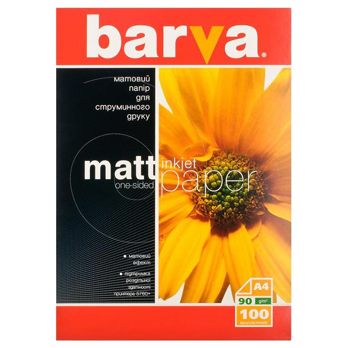 Фотопапір BARVA A4 90г/м² 100л (IP-A090-001)
