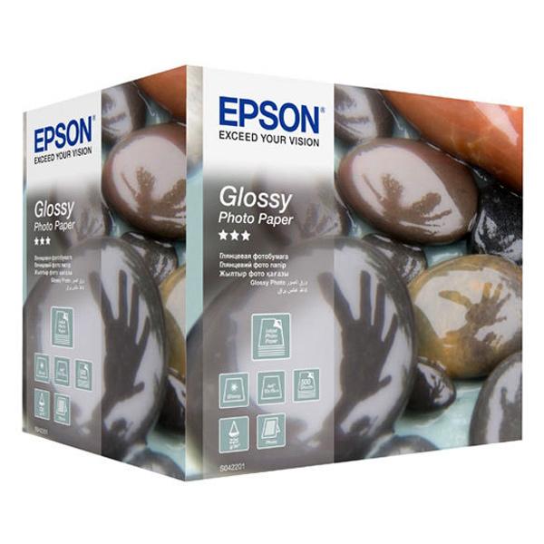 Фотобумага EPSON Glossy Photo 10x15 см C13S042201
