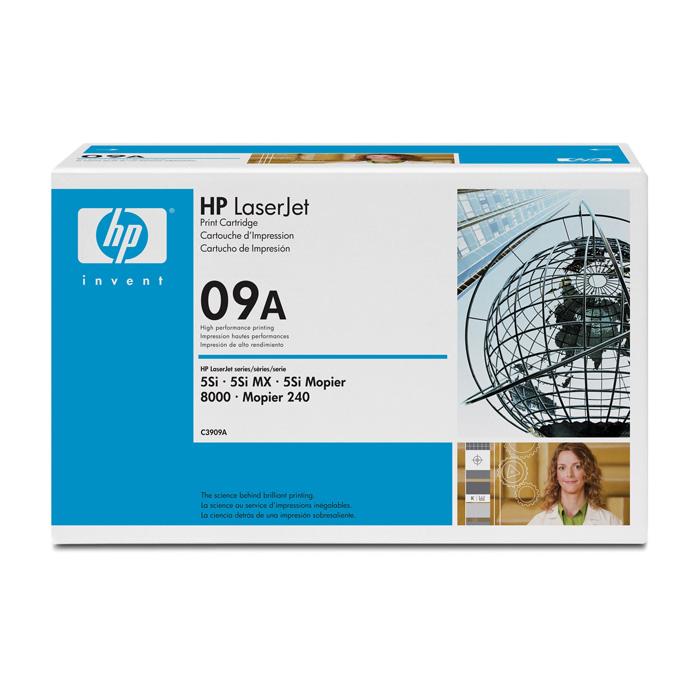 Тонер-картридж HP 09A Black (C3909A)