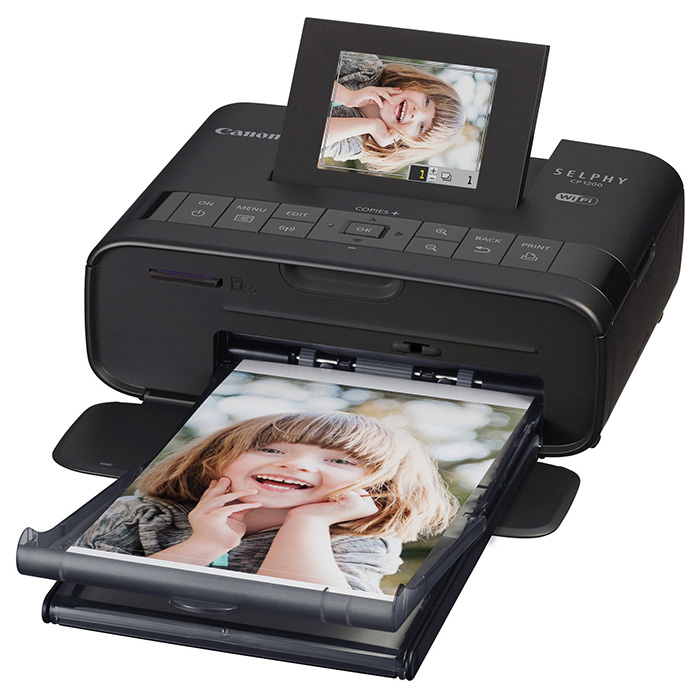 Портативний фотопринтер CANON SELPHY CP1200 Black (0599C012)