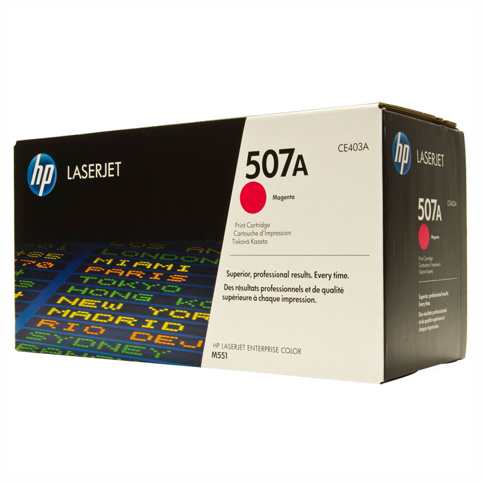 Тонер-картридж HP 507A Magenta (CE403A)