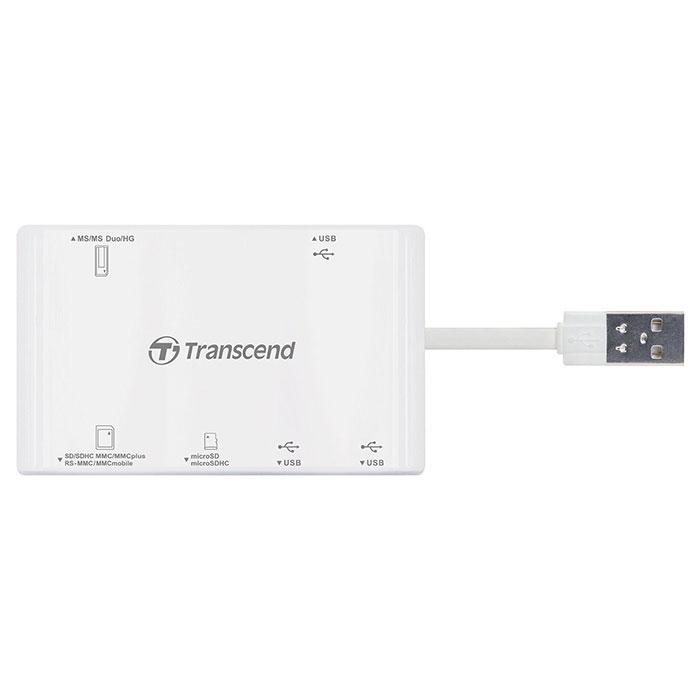 Кардридер TRANSCEND RDP7 White (TS-RDP7W)