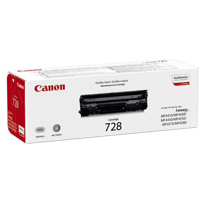 Тонер-картридж CANON 728 Black (3500B002)