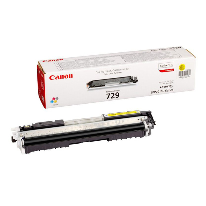 Тонер-картридж CANON 729 Yellow (4367B002)