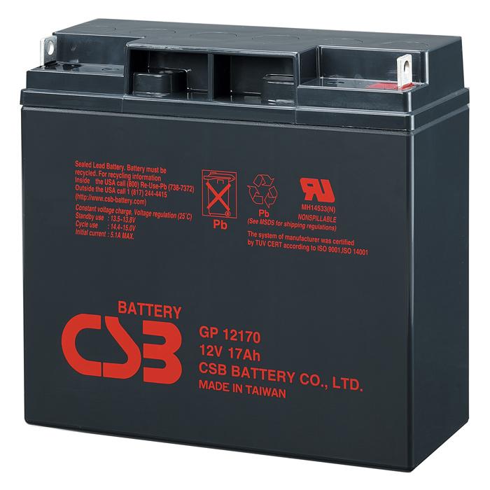 Аккумуляторная батарея CSB GP12170 (12В 17Ач)