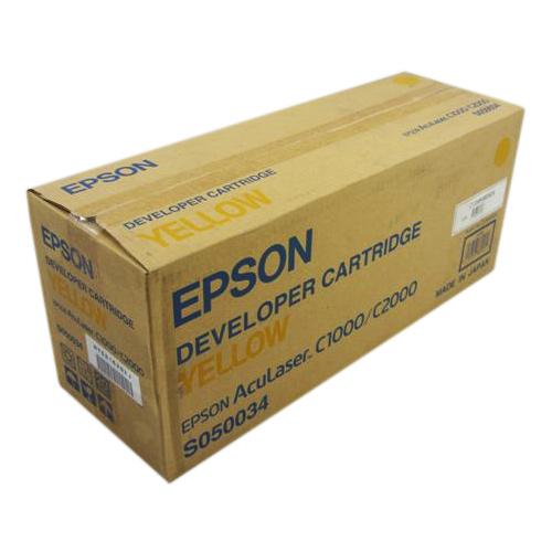 Тонер-картридж EPSON S050034 Yellow (C13S050034)