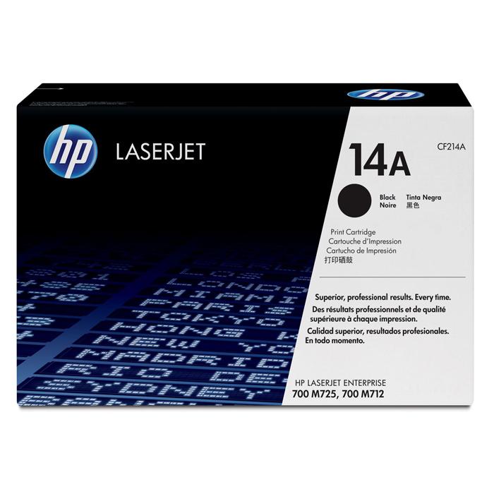 Тонер-картридж HP 14A Black (CF214A)