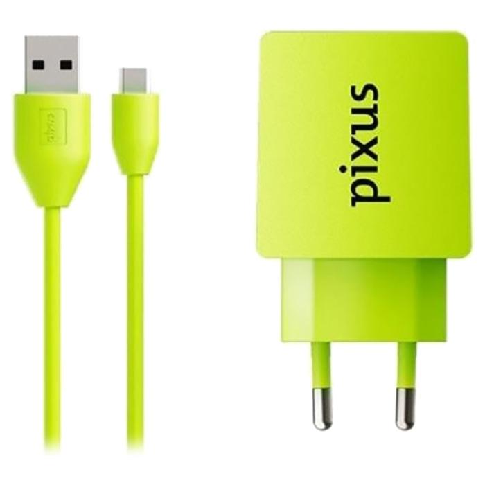 Зарядное устройство PIXUS Charge One Lime