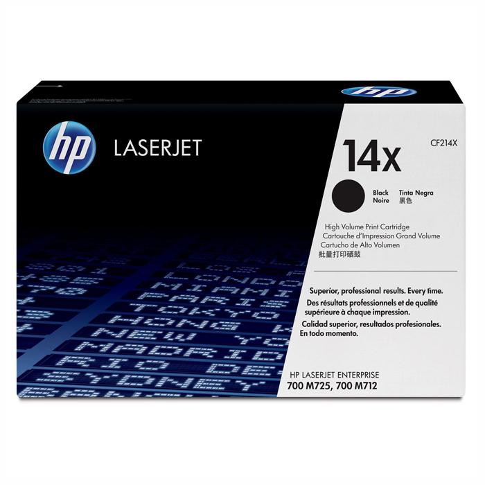 Тонер-картридж HP 14X Black (CF214X)
