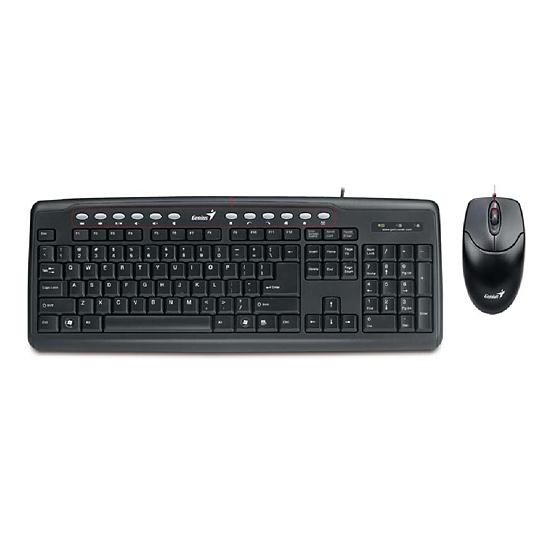 Комплект GENIUS KM-220 PS/2 Black