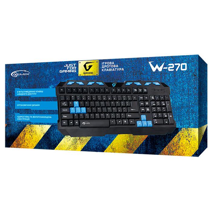 Клавіатура GEMIX W-270