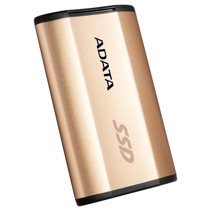 Портативный SSD ADATA SE730H 256GB Gold (ASE730H-256GU31-CGD)