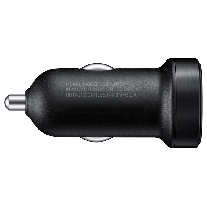 Автомобильное зарядное устройство SAMSUNG EP-LN930 Fast Charge 18W with Type-C Cable (EP-LN930CBEGRU)