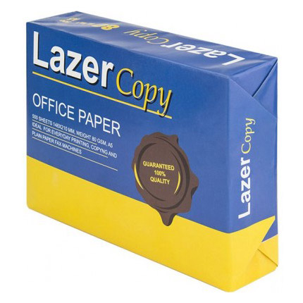 Папір XEROX Lazer Copy A5 80г/м² 500л (XEROX A5 LASER COPY OFFICE 500PCS)