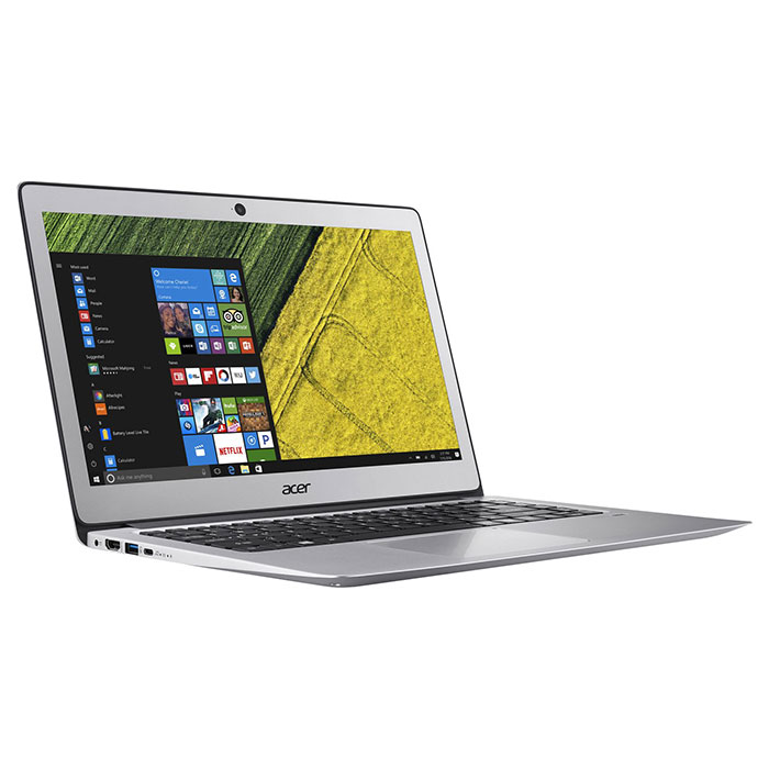 Ноутбук ACER Swift 3 SF314-51-P25X Sparkly Silver (NX.GKBEU.050)