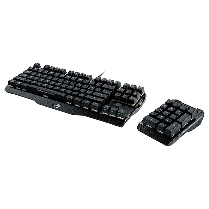 Клавіатура ASUS Claymore (MX Brown Switch) (90MP00E1-B0UA00)