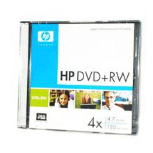 DVD+RW HP 120min/4.7GB 4x (jewel 5шт) (DWE00010 SL)