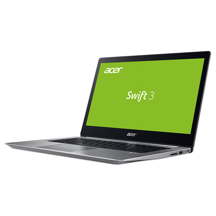 Ноутбук ACER Swift 3 SF314-52-750T Sparkly Silver (NX.GNUEU.021)